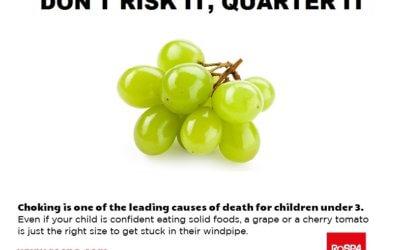 Don't risk it, quarter it!